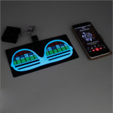 LED Light up EL Display Moving Message ID Badge