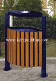 Durable Wooden Sanitary Dustbin for Street, School