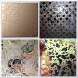 Color Titanium Mirror Etching Decotation Ceiling Stainless Steel Sheet