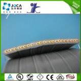 Ho5vvh6-F Flat Elevator Cable 30X0, 75 PVC Flexible Cable with 2 Steel Support Cores
