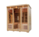 Far Infrared Indoor Sauna Carbon Heater Sauna Room