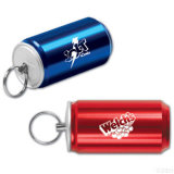 Can Shape Mini USB Flash Drive with Keychain