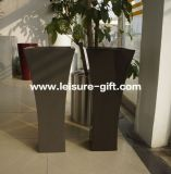 Fo-281 Tall Curved Garden Fibrerglass Flower Vase Wholesale
