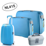Large Capacity PP Luggage Set Nl415 Selling to Europe Trolley Bag 4 Wheels Trolley Bags Luggage Set