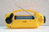 Power Style Solar LED Flashlight Radio