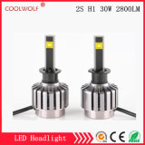 Factory Direct Sale 2s H1 30W 2800lm LED Car LED Headlight Bulbs Headlamp with Competitive Price