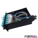 96f MPO Fiber Patch Panel with Cassette and Optical Patch Cord