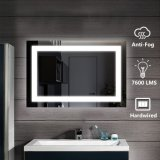 5mm Ce UL Approved Wall Mounted Hotel Home Bath Decor Decoration Touch Switch Lighted LED Bathroom Mirror with Defogger
