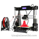 Upgraded Desktop Anet A8 3D Printer with Mk8 Extruder Machine