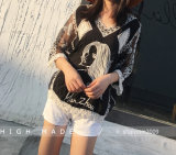 Women's Floral Lace Crochet Cover up Tunic Beach Tops Shirts Swimwear