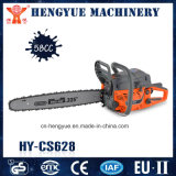 CE Approved 2 Stroke 58cc Chain Saw with High Quality