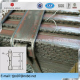 Mild Steel Serrated I Section Type Steel Flat Bar Sizes as Steel Grating Material