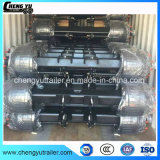 12t, 14t Heavy Duty German Type Drum Brake Axle for Semi Trailer