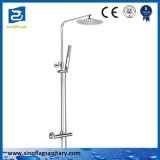 Oval Thermostatic Bath Mixer Faucet Shower