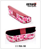 with Floral Patten Plastic Sunglasses Case Nice Design