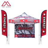 Outdoor Promotion Custom Design 10X10FT Canopy Tent with Feather Flag Sets
