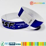 One time use NTAG213 RFID NFC TYVEK wristband bracelet for Event Festival ticketing