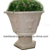 Outdoor Planters Decorative Garden Marble Water Fountains