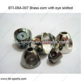 High Quality Good Price Fly Tying Beads-Brass Corns with Eye Slotted 08A-007