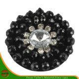 Fashion Acrylic Black Flower