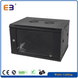 Single Section Wall Mounted Cabinet with Glass Door Data Center Enclosure Rack