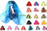 Fashion Two-Tone Chiffon Scarf 30 Colors Collection