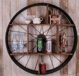 Cheap Home Furniture Home Decorative Rustic Metal Wood Wall Shelf
