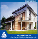2018 Two Story Prefabricated Steel Villa with H Beam