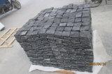 China Grey Granite Cheap Cube Paving Stone G654 Natural Split Flamed