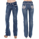 Women Leisure Skinny Slim Fit Denim Fashion Jeans