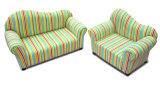 Round Back Children Furniture/Baby Chair/Fabric Sofa (SXBB-13-01)