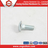 4.8grade Zinc Galvanized M20 Round Head Carriage Bolt