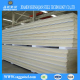 Insulated Sandwich Panel Polyurethane Foam Steel Structural Panel Construction Building Materials