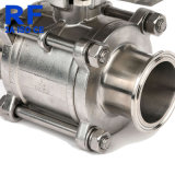 RF DN10-100 Three Piece Pneumatic Full Package Ball Valve