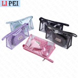 Promotional Customized Clear Cosmetic Packing Bag PVC Packaging Bag
