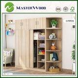 Cheap/Custom 2door/3door/ 4 Door Wood/Solid/ Wooden Home/Hotel/Bedroom Furniture Wardrobe Easy to Assemble