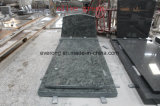 New Design Green Granite Grave Funeral Monuments