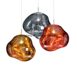 Modern Indoor Decoration Acrylic Hanging Lighting Copper Ball Modern Pendant Lamp