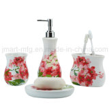 Rolling Meadow Decal Ceramic Bathroom Accessory for Home Toilet Ware