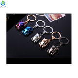 Creative Metal Car Key Chain with LED Light