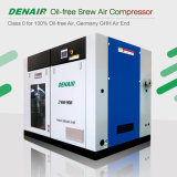 Industrial Silent Medical Dry Oil Free Oilless Rotary Screw Type Air Compressor for Sale