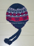 Custom Design Leisure Acrylic Promotion Winter Knitted Hat (HY102110)