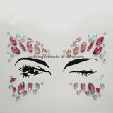 OEM Custom Face Jewels Amazing Crystal Stones Eyeliner Tattoo Rhinestone Eyes Sticker