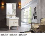 New PVC Sanitary Ware Bathroom Vanity for Promotion with Flow Standing