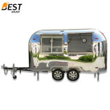 Airstream Mobile Snack Fast Food Kitchen Cart for Europe