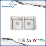 Newly-Designed Fancy Moduled Kitchen Sink Stainless Steel Sink (AS8348)