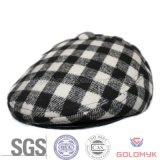 Checked IVY Hat in Black and White Color (GKA20-F00006)