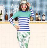 Quick Dry Women′s Lycra Swimwear&Digital Printed Beachwear722