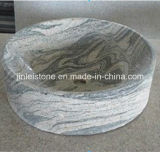 Popular China Juparana Granite Stone Basin for Bathroom
