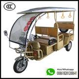High Quality E Rickshaw Electric Tricycle 3 Wheeler Electric Auto Bajaj for Kokata, India From Qiangsheng